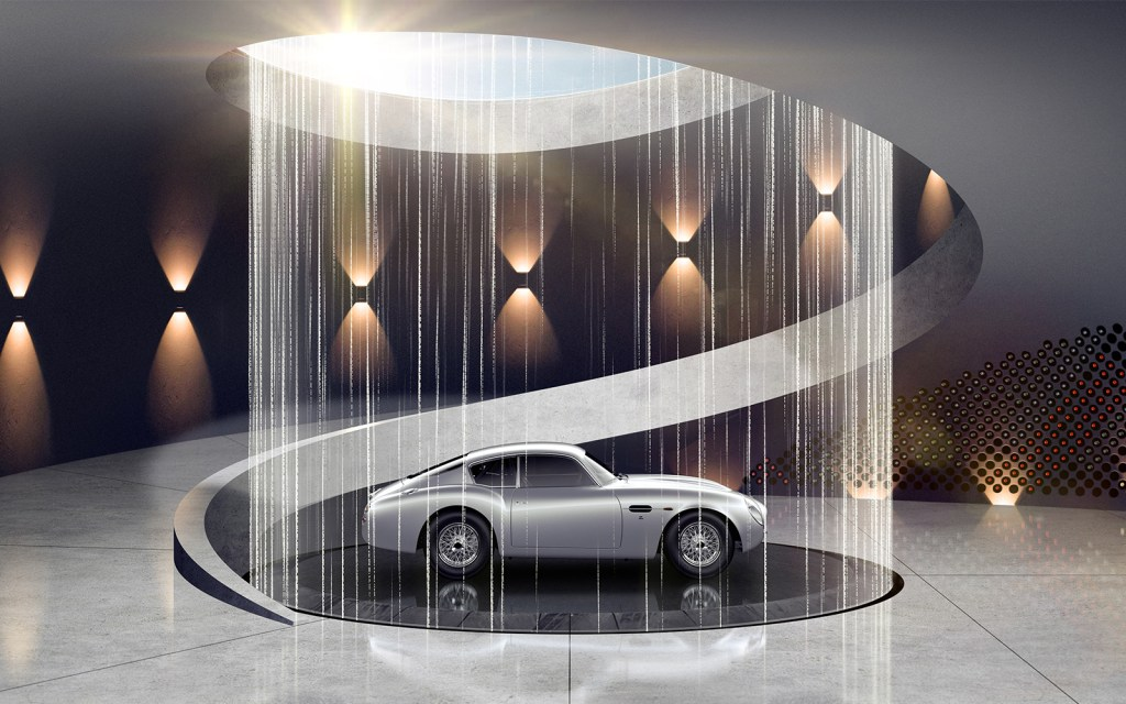 Aston Martin To Offer Custom Built Garages Cool Hunting