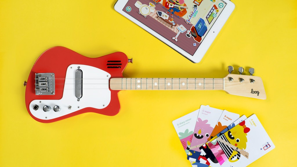 Loog Guitars Electric Instruments For All Ages Cool Hunting