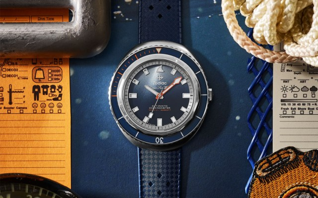 National Geographic Photographer Andy Mann and Zodiac Collaborate on a Dive Watch