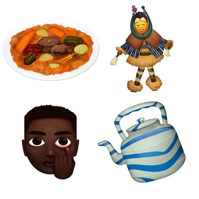 Ivory Coast Artist O'Plérou Grebet's Africa-Centric Emojis
