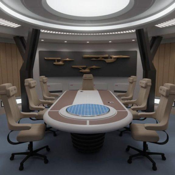 Chairs Of Star Trek Cool Hunting, Star Trek Furniture