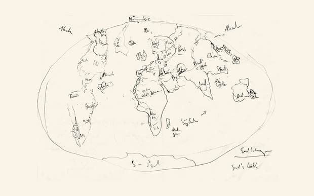World Map Archive - COOL HUNTING