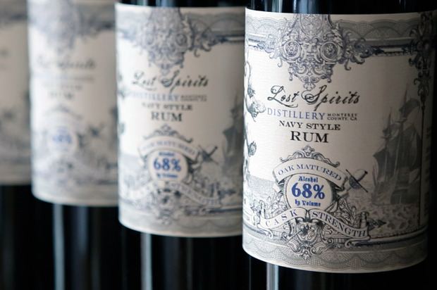 Four Navy Strength Rums