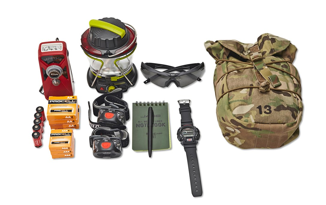 Just One Eye's Ulysses Tier 1 Disaster Relief Kit