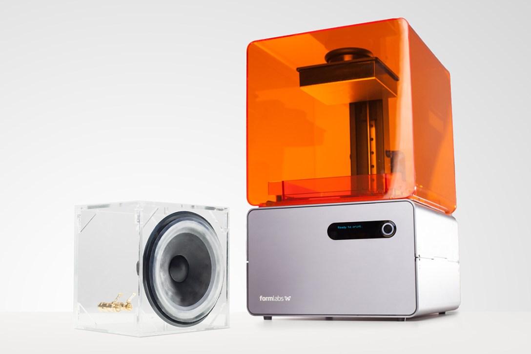 A DIY 3D-Printed Speaker From Formlabs