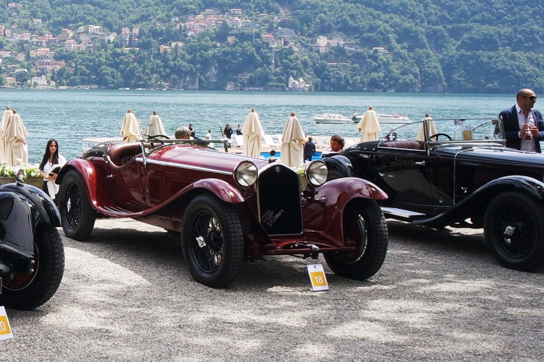 Storied Cars of Concorso d'Eleganza Villa d'Este 2015