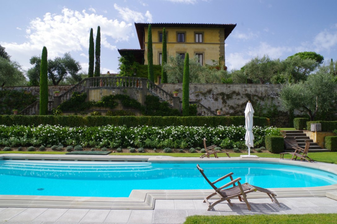 Exploring the Grounds of Sting's il Palagio Tuscan Estate