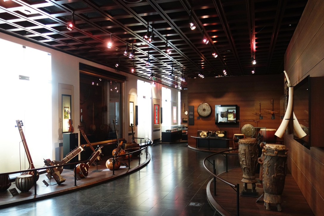 CH Global Spin: Musical Instruments Museum, Brussels - COOL HUNTING