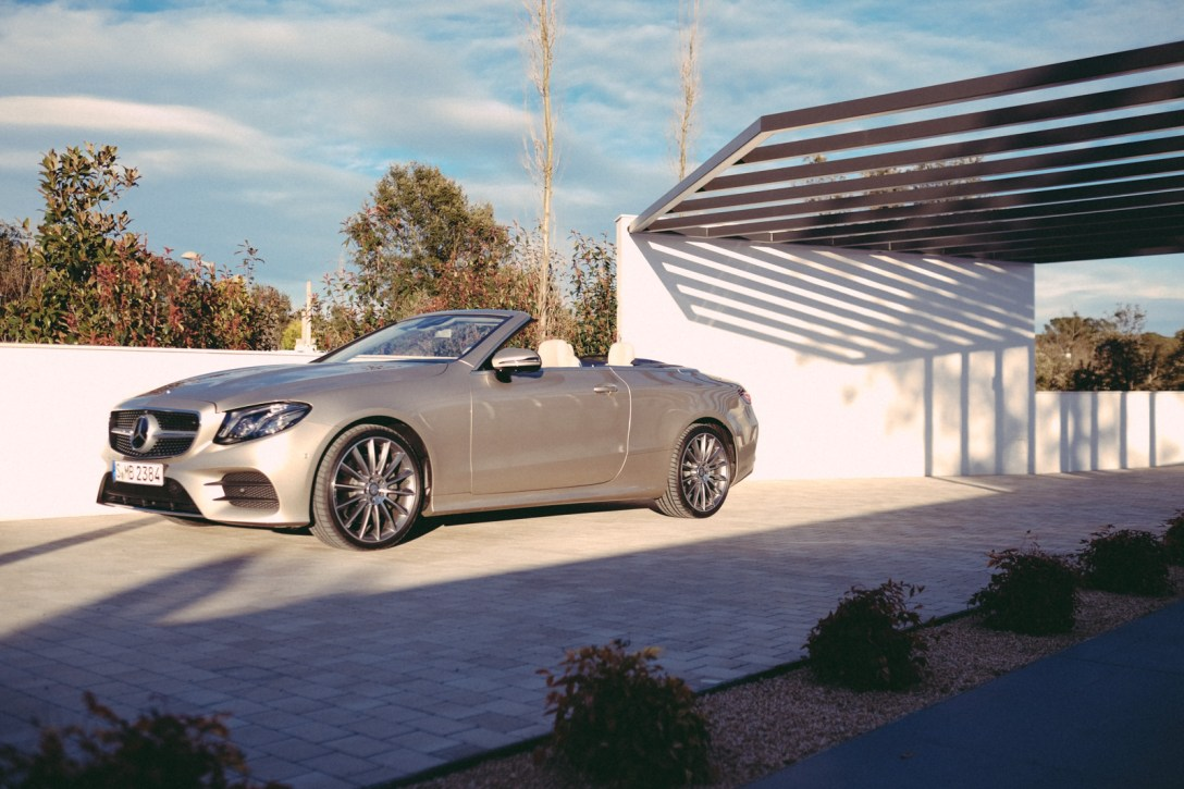 Test Drive: 2018 Mercedes-Benz E Class Cabriolet - COOL HUNTING