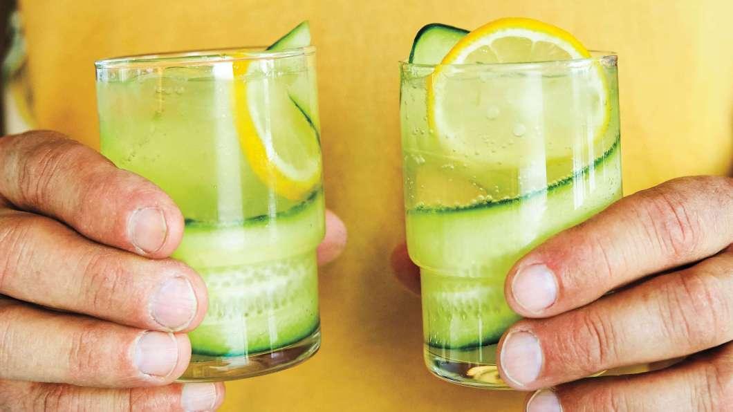 Receita de Cocktail de gim de pepino
