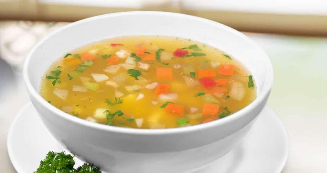 Receita de Sopa de Legumes Básica