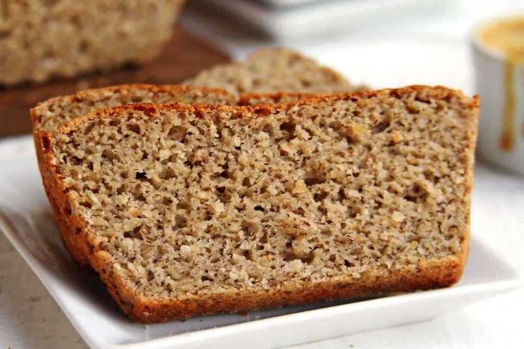 Receita de Pão Vegano com Farinha de Amendoim