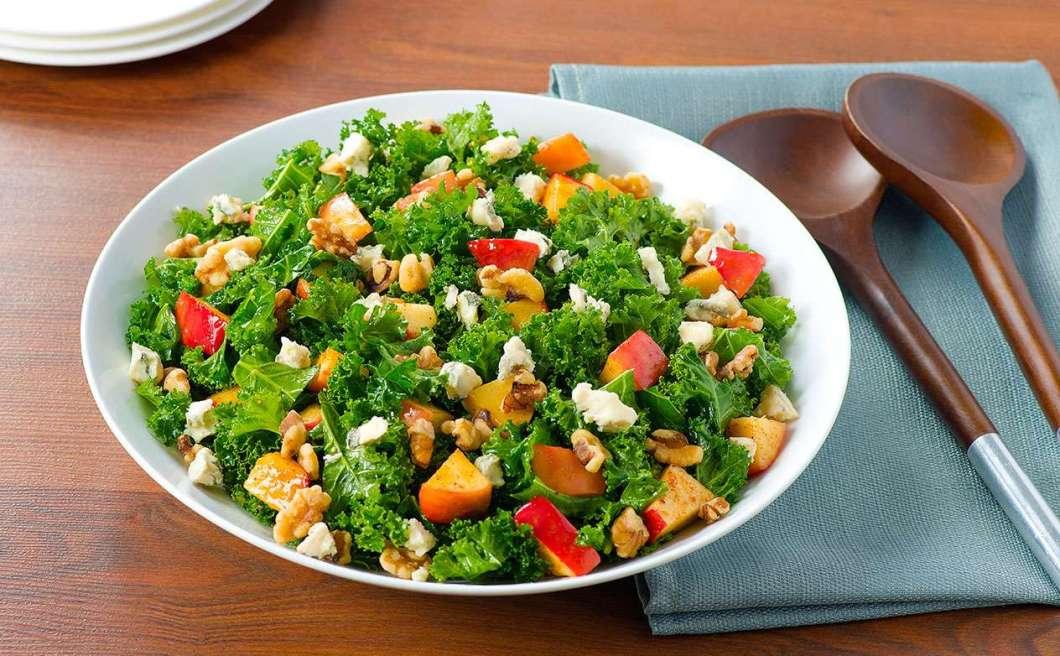 Receita de Salada Low Carb De Couve