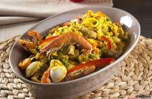 Arroz à Valenciana | 10 Receitas deliciosas de Arroz para um Cardápio Rico de Frutos do Mar
