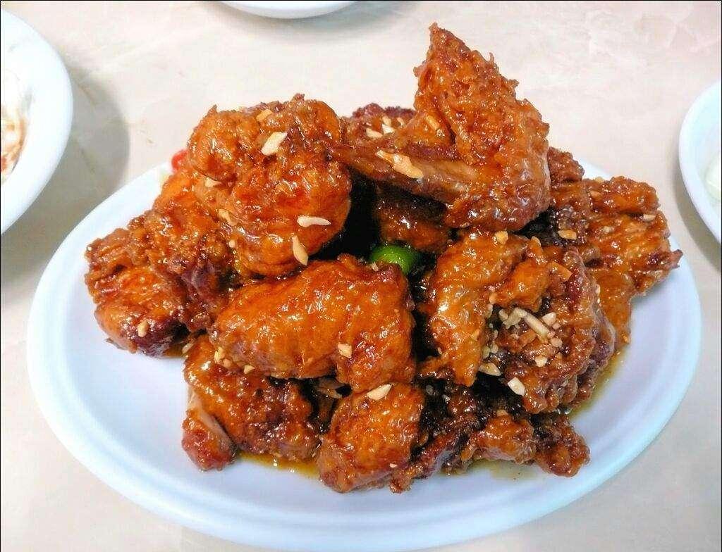 Receita de Frango frito coreano