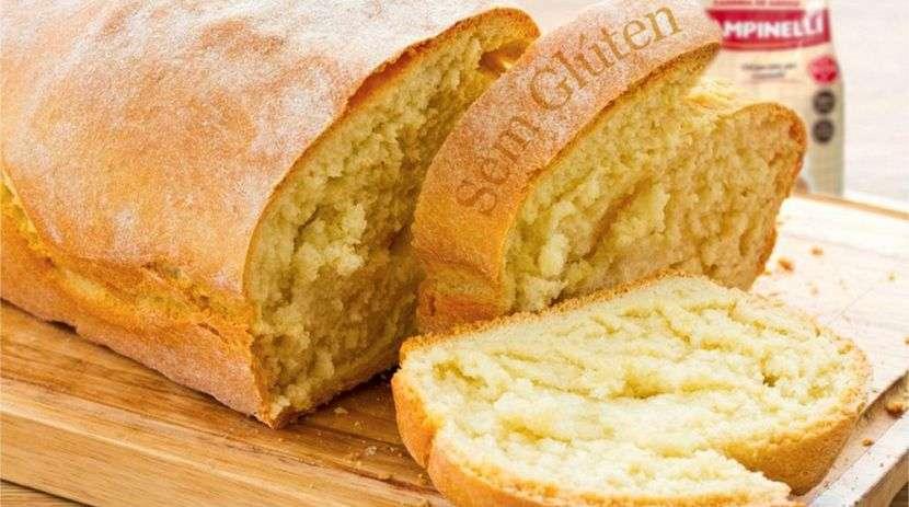 Receita de Pão sem Glúten de Liquidificador