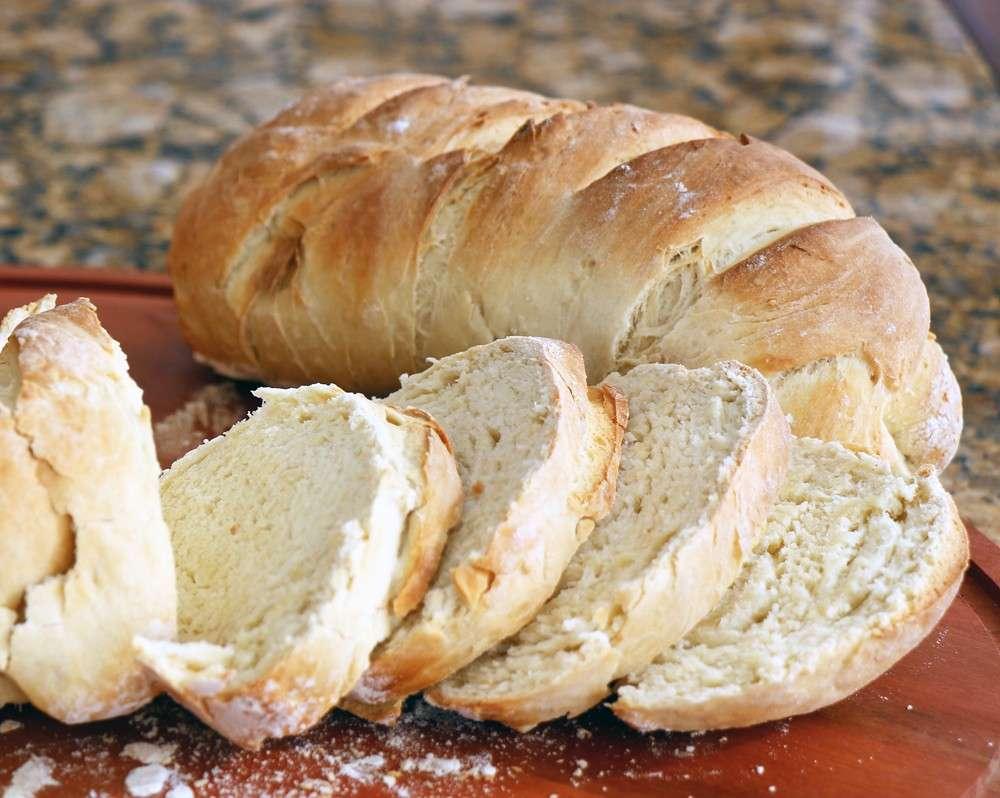 Receita de Pão sem glúten com mel e iogurte