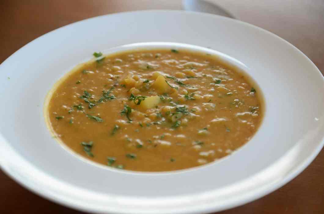 Receita de Sopa de Lentilha Vermelha cremosa