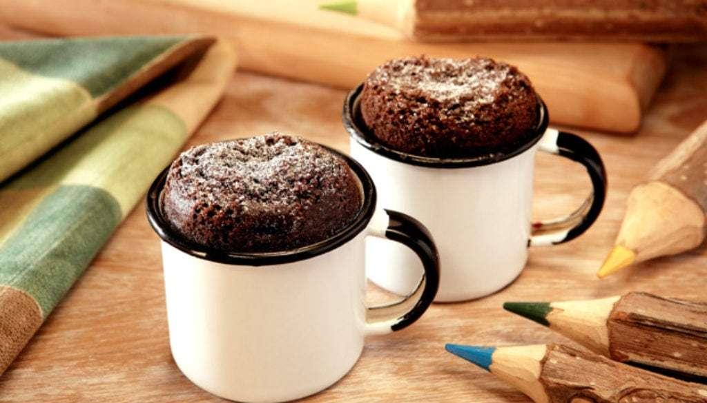 Receita de Bolo de Chocolate de Caneca Saboroso