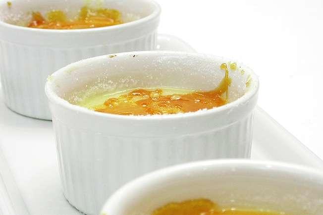 Receita de Crema catalana Vegetariana