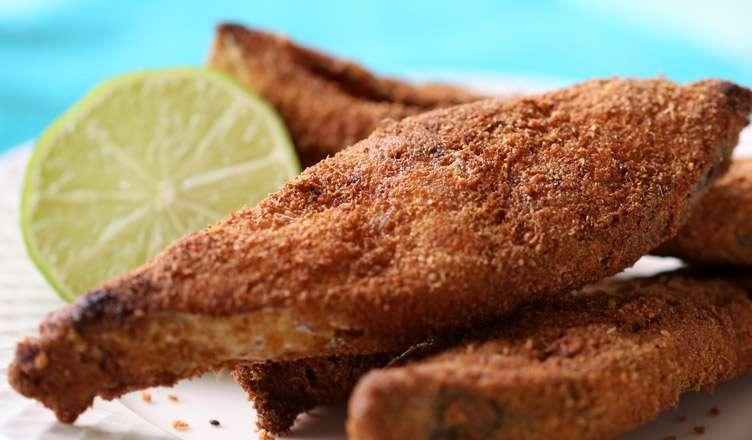 Receita de Peixe Frito Crocante
