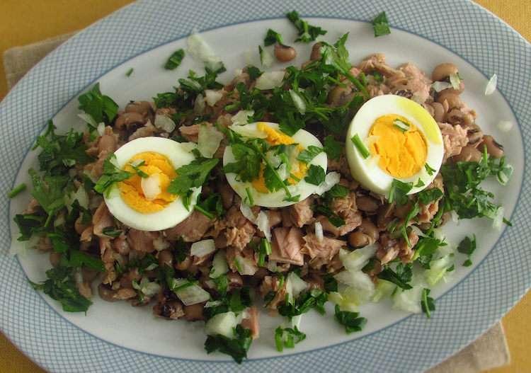 Receita de Salada de feijão frade Mais Fácil