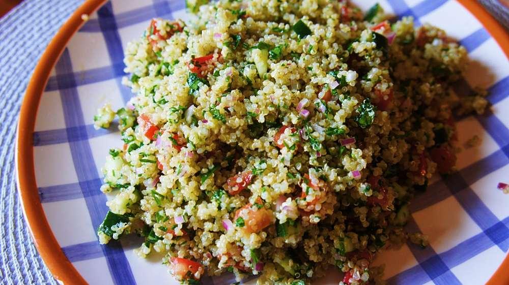 Receita de Tabule da Minha Mãe Salada Árabe