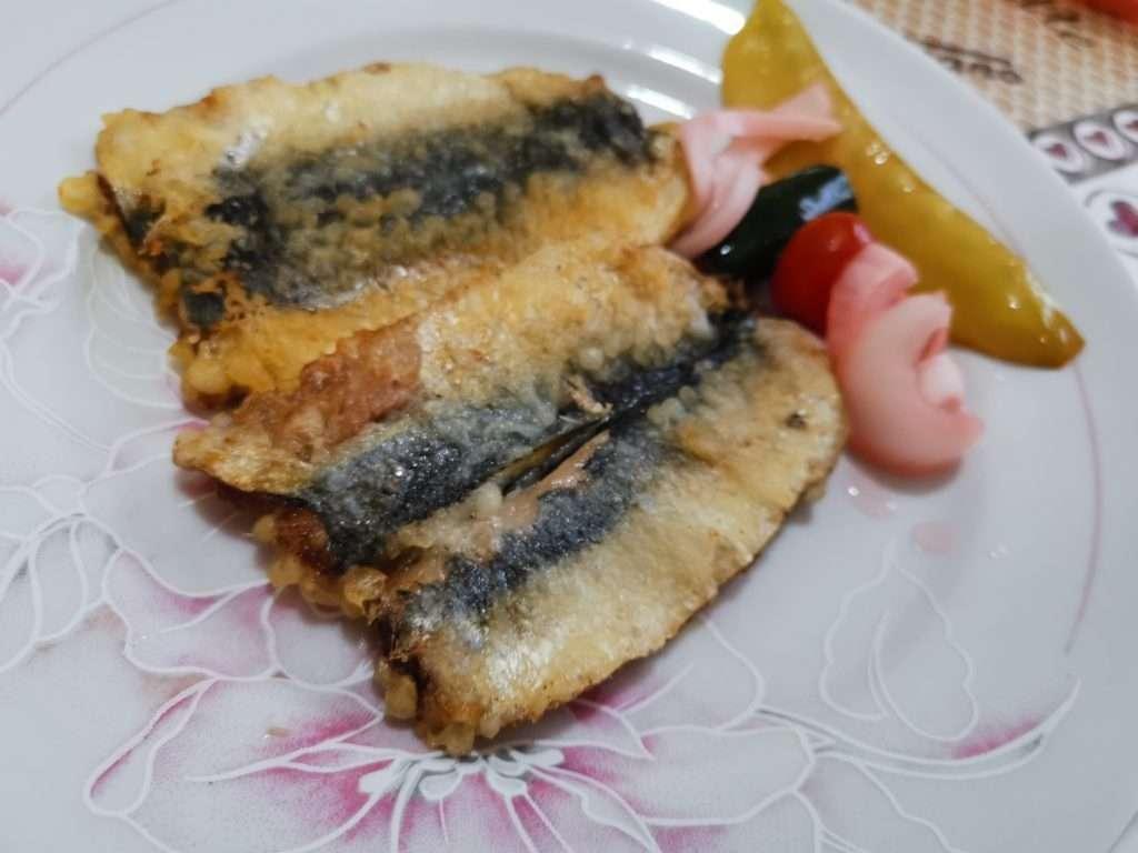 Receita de peixe frito simples
