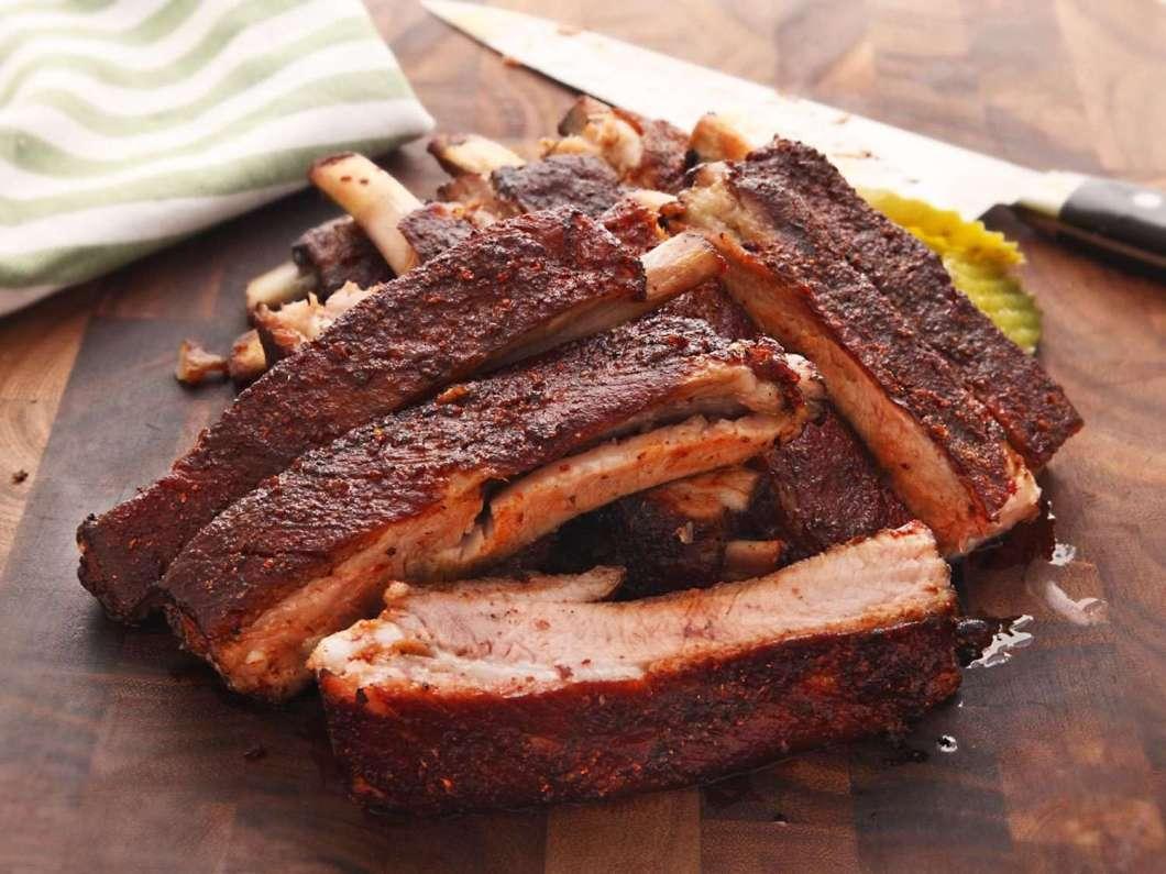 Receita de Costelinha de porco assada no forno com barbecue