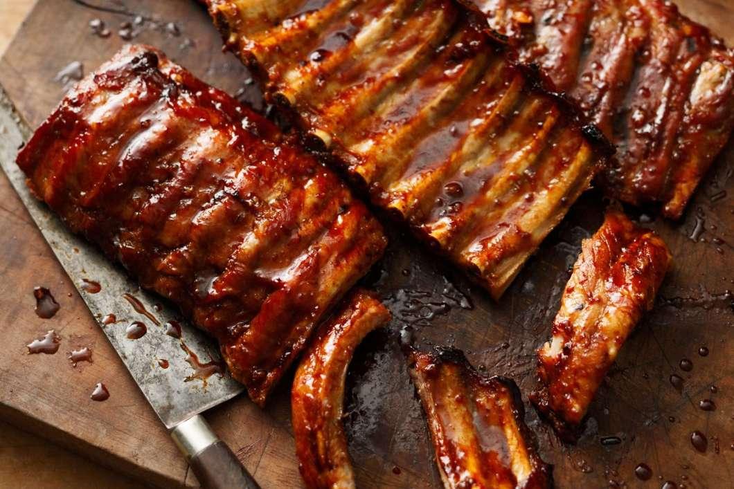 Receita de Costelinhas de porco ao forno