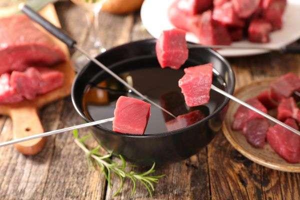 Receita de Fondue de Carne Rápido na Chapa