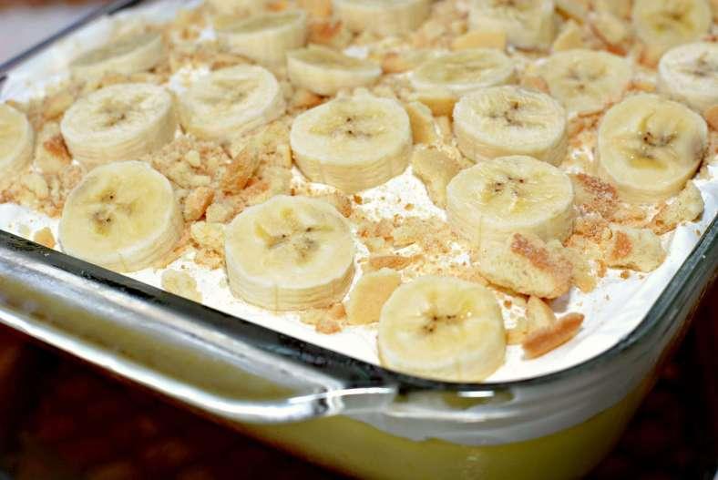 Receita de Torta de Banana com canela