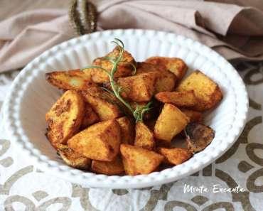 Receita de Batata assada com páprica picante, alho e alecrim