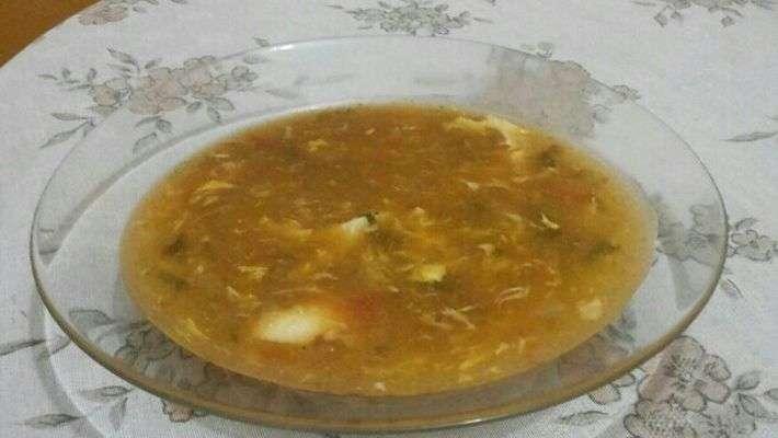 Receita de Caldo de ovos