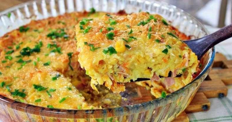 Receita de Omelete de forno fácil