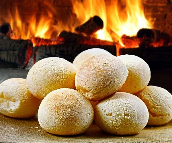 Receita Low Carb de Pão de Queijo Pequeno Almoço