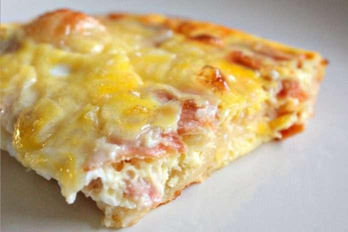 Receita de Omelete de Queijo Low Carb
