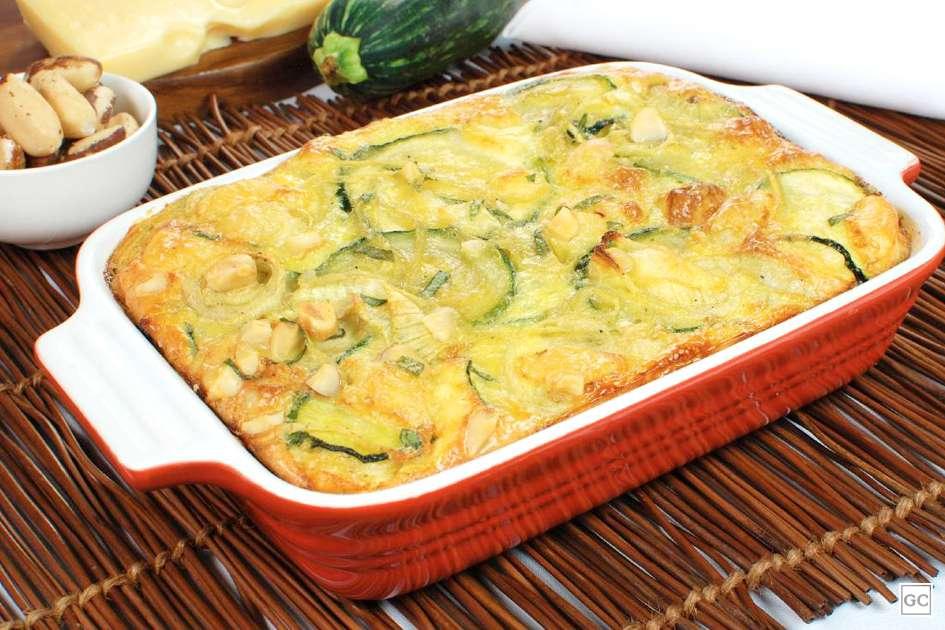 Receita de Omelete de forno com abobrinha