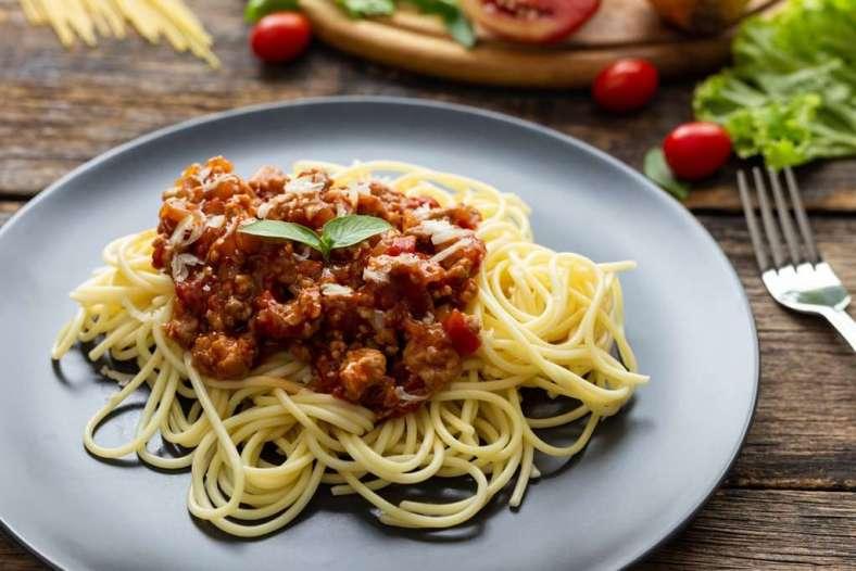 Receita de Esparguete à bolonhesa Rápida