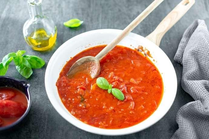Receita de Molho de Tomate Natural