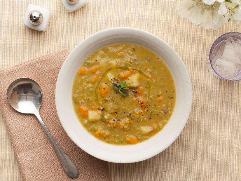 Receita de Sopa de Ervilha Tudo Gostoso
