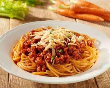 Receita de esparguete à bolonhesa Ana Maria Braga