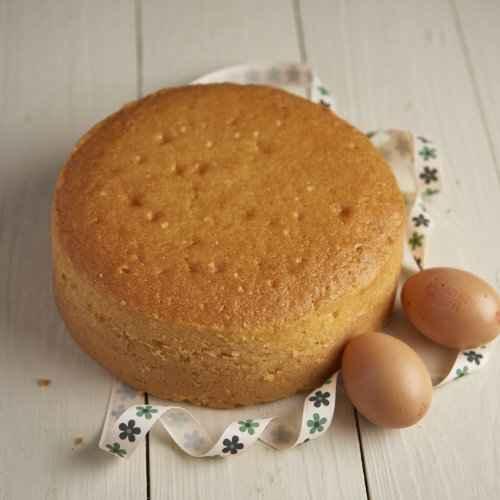 Receita de Bolo Pão de ló de laranja