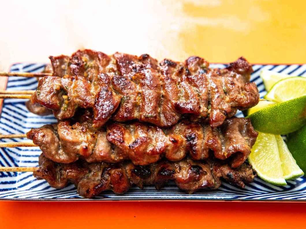 Receita de Espetinho de Carne Bovina bem Gostosa