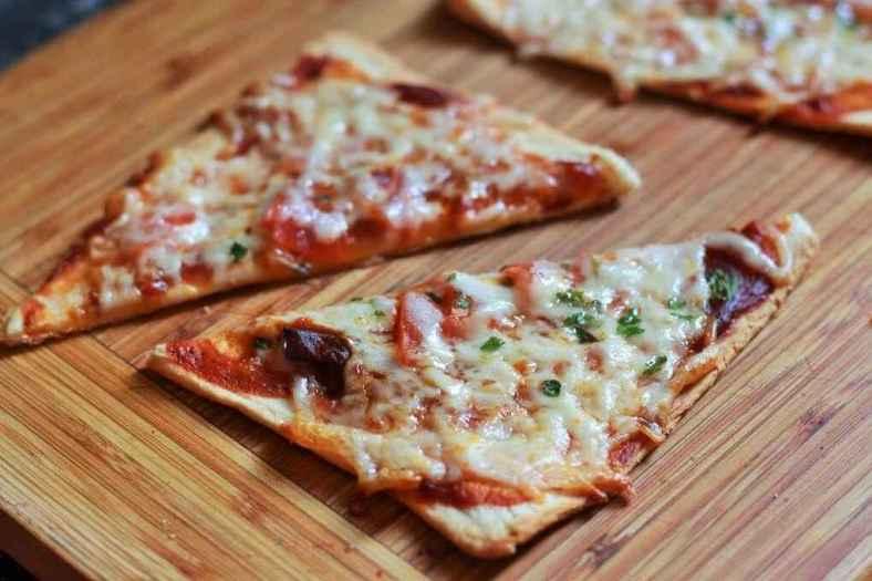 Receita de Pizza de Pão de Forma Deliciosa