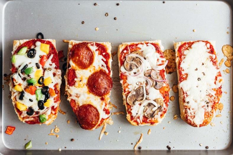 Receita de Pizza de Pão de Forma Diferente e Fácil