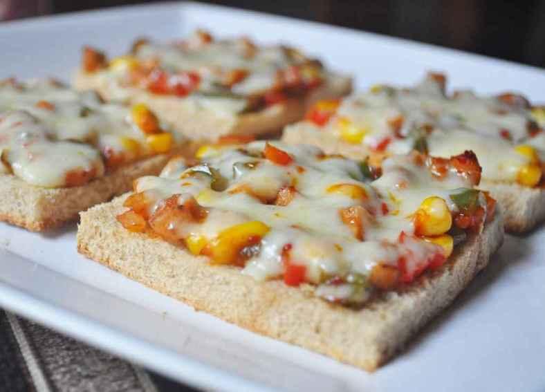 Receita de Pizza de Pão de Forma Edu Guedes