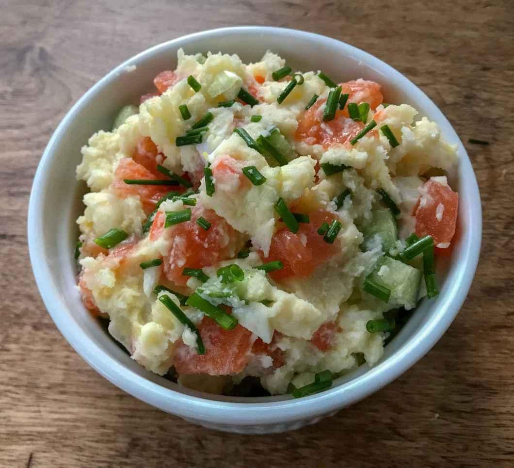 Receita de Salada de batata com erva-doce e maionese