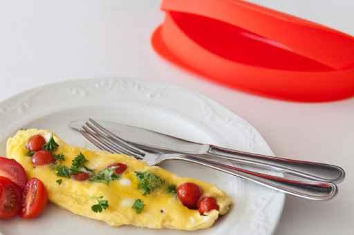 Receita de omelete de microondas Deliciosa