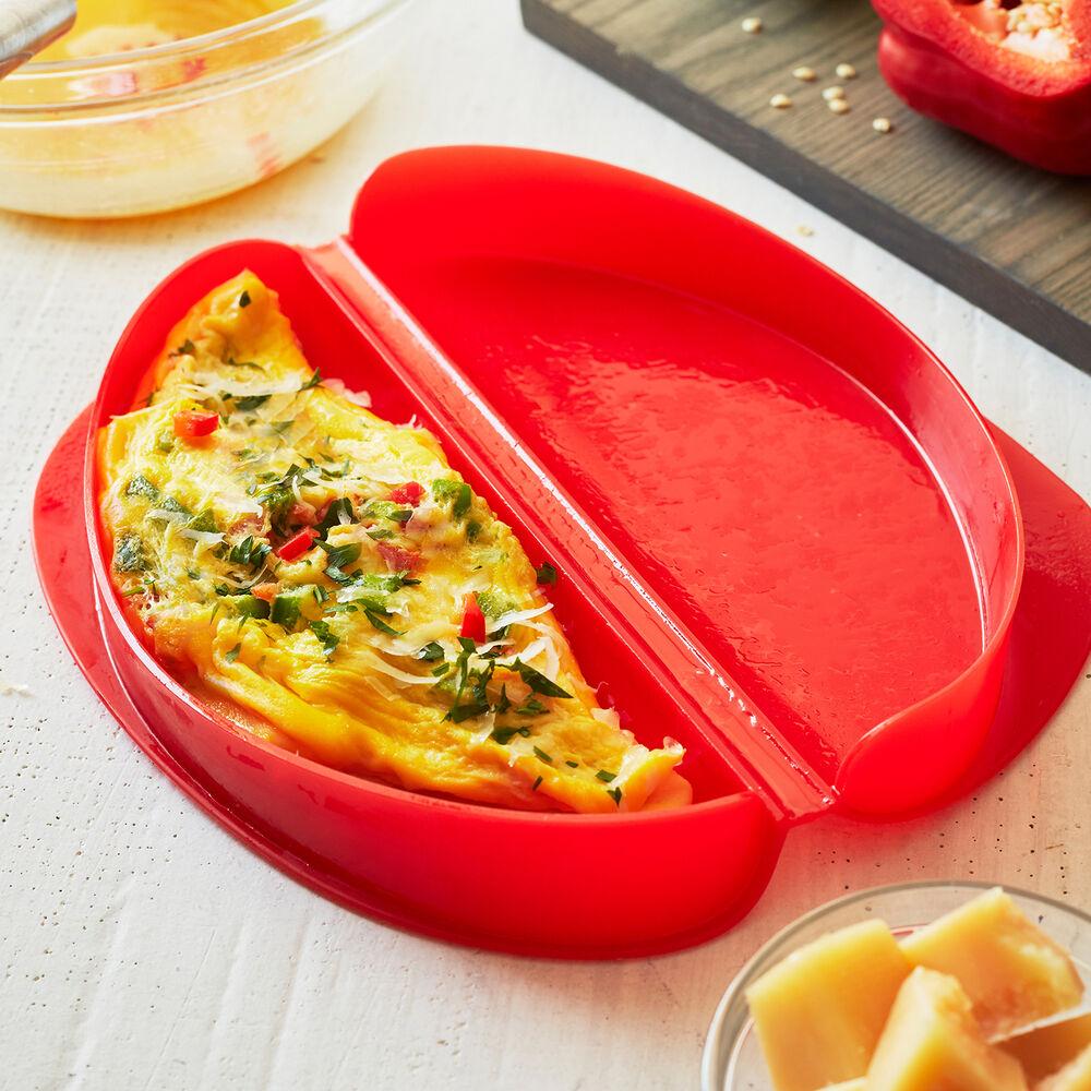 Receita de omelete de microondas na Marmita